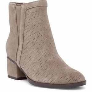 Splendid Rosalie perforated booties